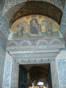 Hagia Sophia Istanbul - Christian art restoration.