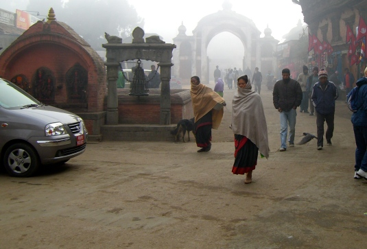 Bhaktapur Nepal - Residents off to work?
