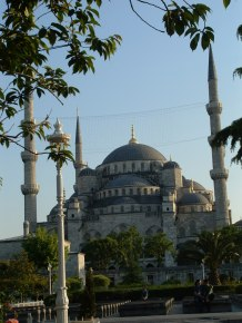 Old Istanbul - The Blue Mosque in the Sultanahmet District