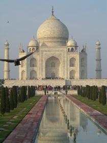 Taj Mahal built by Shah Jahan in the 17th century.