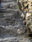 Challenging Stairs at Tintagel