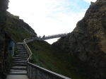Bridging the mainland to Tintagel Castle.