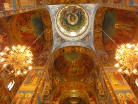 Church of Spilt Blood St. Petersburg.
