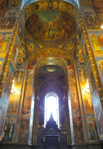 Interior of Spilled Blood is filled with light.